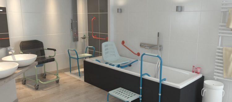 salle de bain équipement sécurité